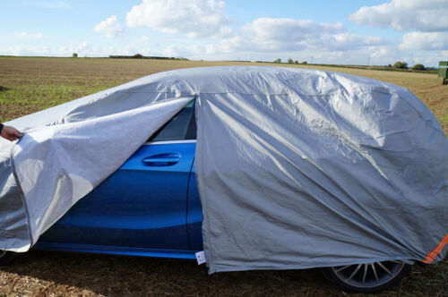 Peugeot 107 Heavy Duty Waterproof Car Cover Breathable UV Protection Outdoor