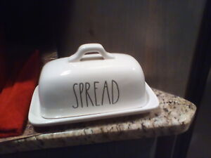 Rae-Dunn-SPREAD-Butter-Dish-LL-by-Magenta-Farmhouse-Pottery-NEW