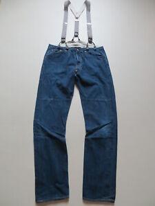 Levi's Jeans Hose, W 34 /L 34, mit Hosenträger ! Vintage Clothing, Made in USA !