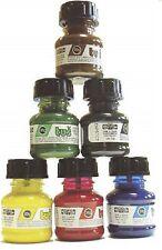 Zeichentusche Set KOH-I-NORR 6 Farben a 20gr. (100gr./6,21€)