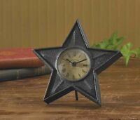 Black Star Table Top Clock By Park Designs