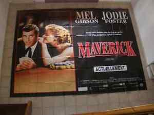 Affiche-cinema-geante-4-x-3-Maverick-Mel-Gibson-Jodie-Foster