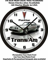 1979 Pontiac Trans Am Indy Pace Car Wall Clock-free Usa Ship