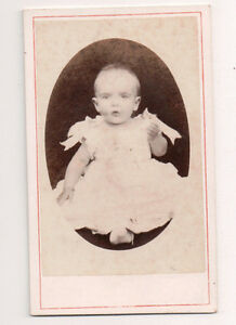 Vintage-CDV-Unknown-Victaorian-Child
