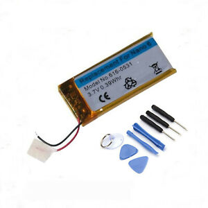 New-3-7V-Li-ion-Battery-Replacement-330mAh-for-iPod-Nano-6-6th-Gen-Free-Tools