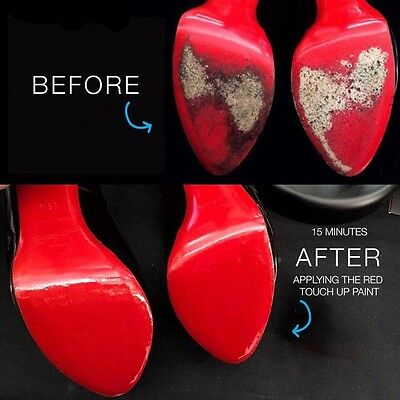 Red Soles DIY Paint To Restore