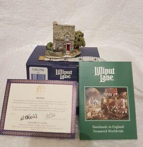 Lilliput-Lane-FUCHSIA-COTTAGE-1996-Brand-New-Vintage