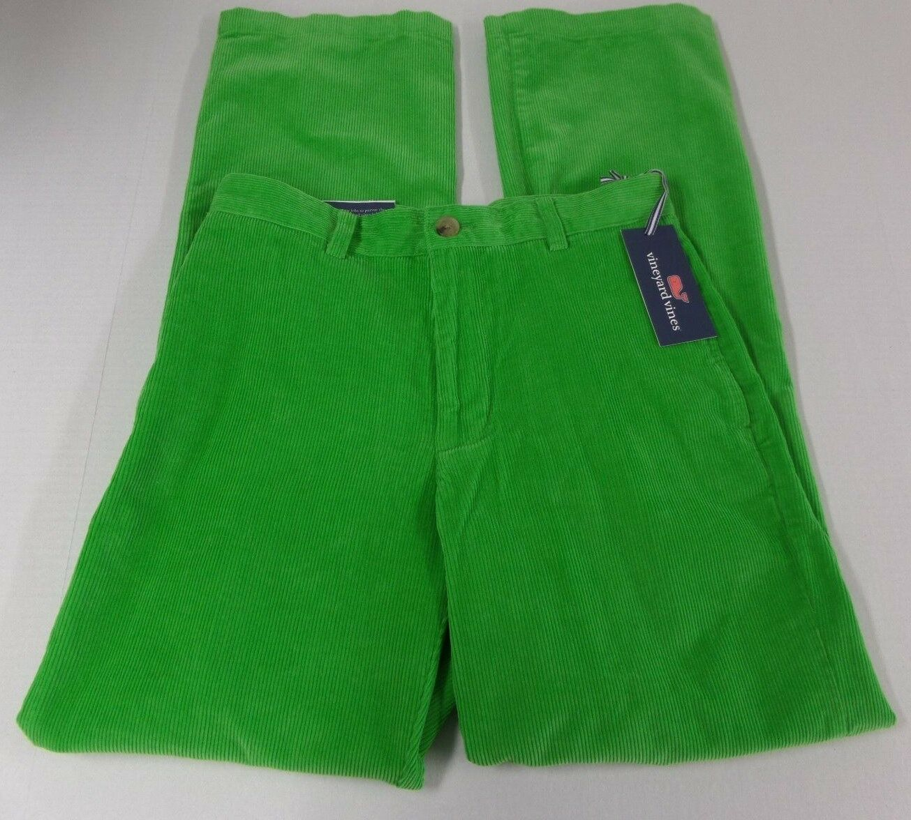 New Vineyard Vines Club Classic Fit Corduroy Pants Mens Size 28x32 Retail 98.50