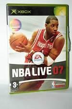 NBA LIVE 07 GIOCO USATO OTTIMO STATO XBOX EDIZIONE INGLESE UK PAL GD1 38478