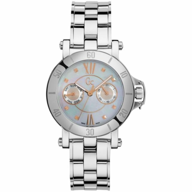 Guess Collection GC Women's Sport Chic Femme Mother-of-Pearl Watch - X74012L1S