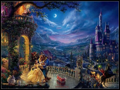 Chart Counted Cross Stitch Pattern Needlework DIY DMC Dancing in the Moonlight