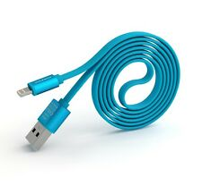 PINENG PN-302 Iphone High Speed 2A Noddle USB Charging/Data Cable (1m)-Blue