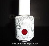 Gelish Harmony With Your Red So Bright 01469 Led/uv Gel Nail Polish .5fl