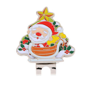 Sturdy-Santa-Claus-Magnetic-Hat-Clip-Golf-Ball-Marker-Fit-for-Cap-Visor-Gift