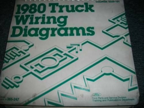 1980 Ford F600 F700 F800 Cowl Trucks Wiring Diagrams
