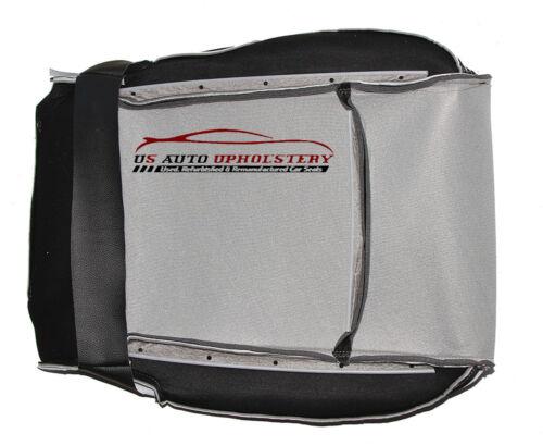 2009-2012 Dodge Ram Laramie DRIVER Side Bottom Leather Seat Cover Dark Gray