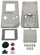 Game Boy Classic Gehäuse Display Scheibe Batterie Deckel Tasten Grau Grey Shell