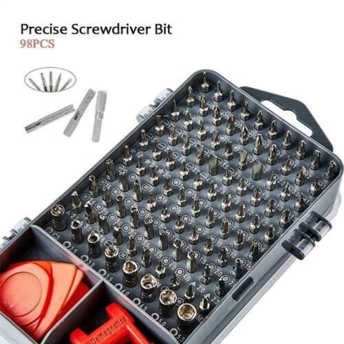 112 in 1 Screwdriver Set Magnetic Screwdriver Bit Multi Repair Mobile Phone Z4P7
