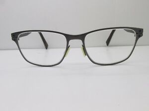 763339ab23 Nike 8201 069 EYEGLASSES FRAMES 51-16-140 Silver Rectangle TV6 34720 ...