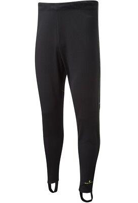 RONHILL EVERYDAY TRACKSTER Mens Lightweight Slim Sport Running Pants Black LP£33