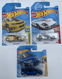 Ford GT40 Subaru WRX STi & Nissan 300ZX Twin Turbo Hot Wheels MATTEL New Boxed
