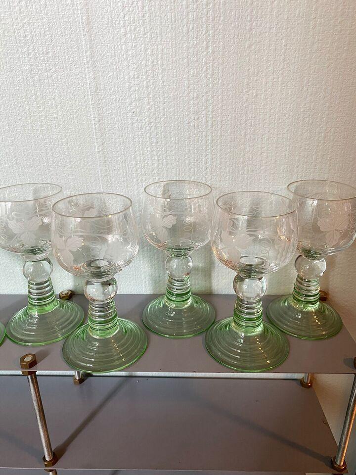 Glas, Hvidvinsglas