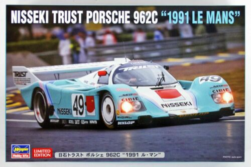 Hasegawa 20318 Nisseki Trust Porsche 962C /'1991 Le Mans/' 1//24 Scale Kit