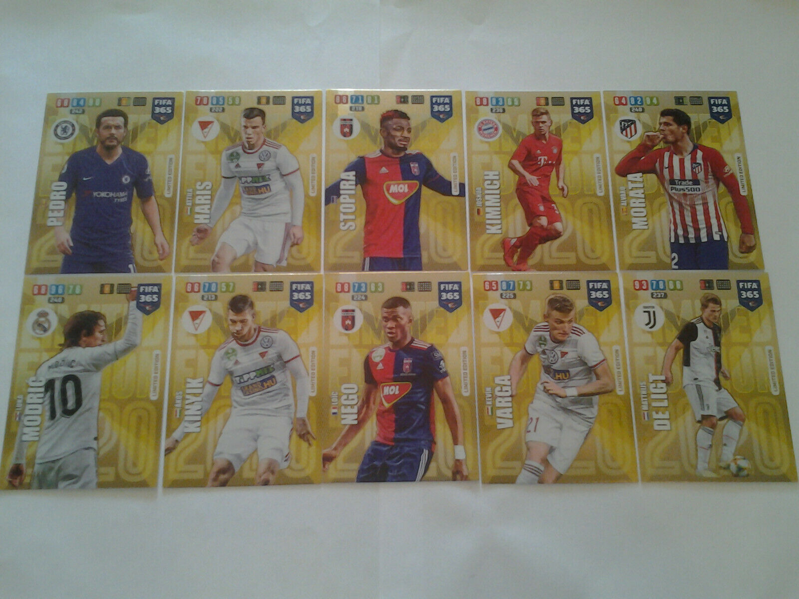 2016 PANINI FIFA 365 stagione 20 cartocci packets BUSTINE MINT! South America ed