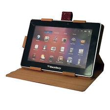 Rojo Cuero Pu Cocodrilo de 360 grados de rotación Estuche Para Blackberry Playbook