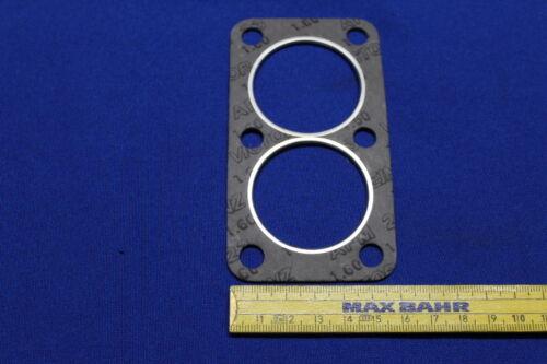 kleiner Flansch Flammrohr-Dichtung Abgaskrümmer an Hosenrohr Opel CIH 1,6-1,9
