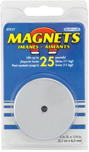 "Master Magnetics #07217 2.04/""D Round Base Magnet"