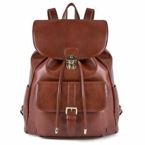 prezzo di fabbrica 32399 349e9 Dettagli su COOFIT Zaino Donna Borsa Zainetto Universita Elegante Backpack  Ragazze