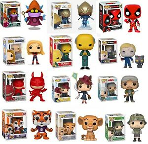 Assorted-Funko-POP-Movies-Overwatch-Marvel-TV-Horror-Disney-Deadpool-Harley-NEW