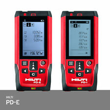Hilti PD-E Laser Range Meter Distance Measurer IP65 +/-1.0mm Accuracy PD42 FedEx