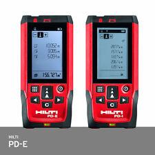 Hilti PD-E Laser Range Meter Distance Measurer IP65 +/-1.0mm Accuracy PD42 FedEx