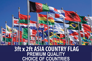asian country flag 3ftx2ft quality polyester flags choose your