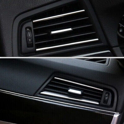 Carbon Fiber Style For BMW 5 Series F10 2011-16 Side Air Outlet Vent Frame Trim