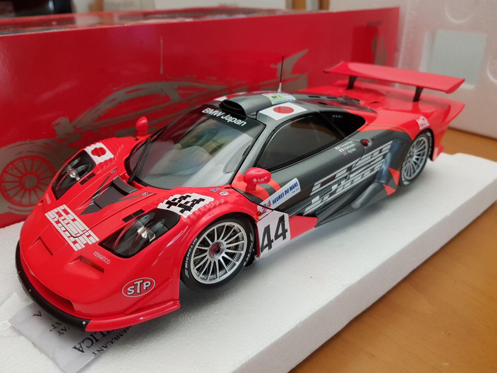 1 18 MINICHAMPS McLAREN F1 GTR LE MANS 1997