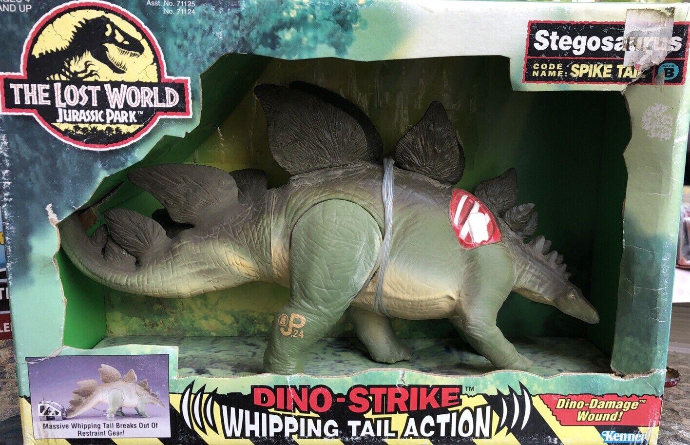 Jurassic Park Lost World Stegosaurus Spike Tail Dinosaur Kenner 1997 Mpw B2 For Sale Online Ebay