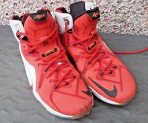 Mens uk 12 usa 13 nike lebron james used trainers basketball heart image is loading mens uk 12 usa 13 nike lebron james sciox Gallery
