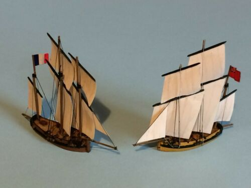 Resin models kit Luggers 18th-19th century  1:700  2 in 1    eBay