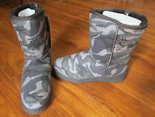 NEW Aussie Dogs Boots CAMO NATURAL Mens 9 Womens 10 $131.99