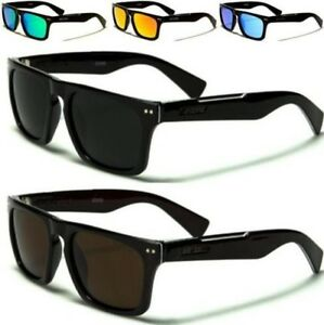 a6e313afd9 Image is loading DESIGNER-CLASSIC-FLAT-TOP-POLARIZED-SUNGLASSES-RETRO-BLACK-