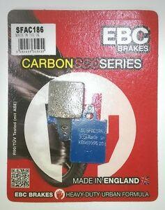 LML Star 200i (2010 to 2015 - DISC MODEL) EBC Carbon FRONT Brake Pads (SFAC186)