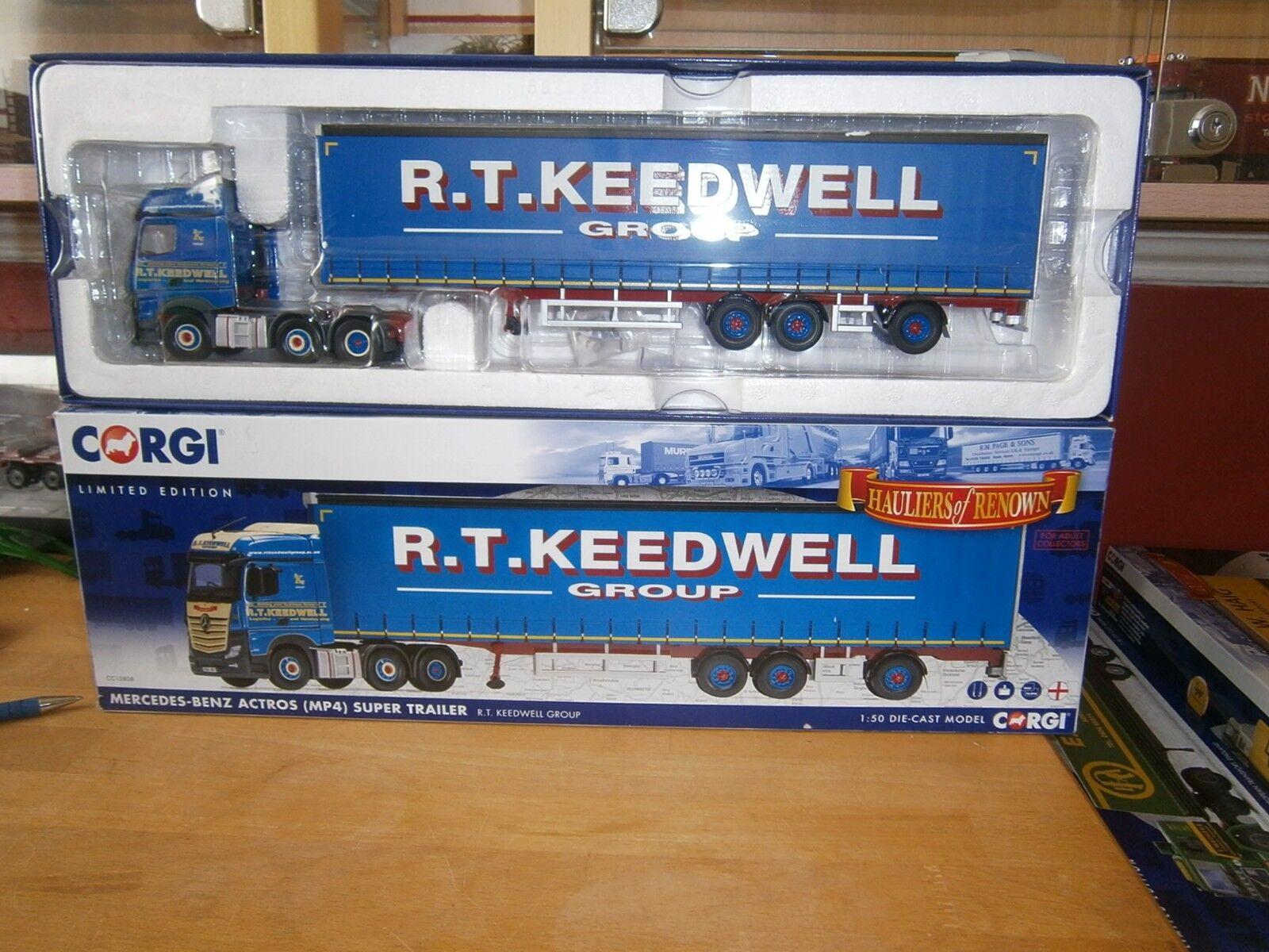 Corgi moderno camiones transporte R T needwell transporte pesado escala 1.50