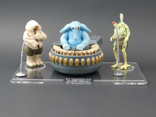 Vintage Star Wars Rebo Band Display Stand stand only 1 x Synergy Stands