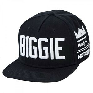 Image is loading NOTORIOUS-BIG-BIGGIE-SMALLS-SNAPBACK-HAT-CAP-KING- 59b1f01e3c69