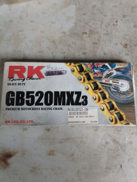 134 Links Chain Length: 134 RK 428 MXZ GB Heavy Duty Chain Chain Application: All GB428MXZ-134 Chain Type: 428