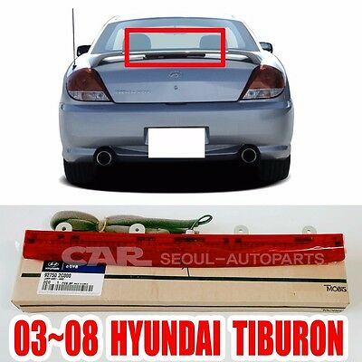 TIBURON COUPE Rear LED Spoiler OEM Genuine Parts For Hyundai 2003 2008