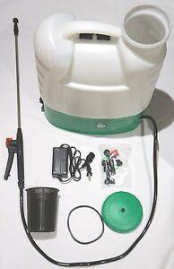 4 Gallon Tank Cordless 12 Volt Battery Operated Electric Backpack Garden Sprayer Ebay
